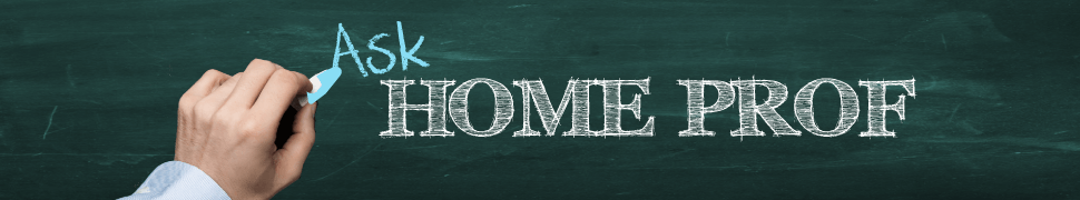 Ask Home Prof Title Banner